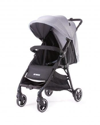 Baby Monsters Kuki Baby Light Stroller heather grey