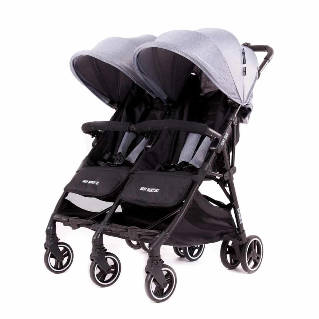 Baby Monsters Kuki Twin BMKT10001 BMKT 011 Heather grey 1