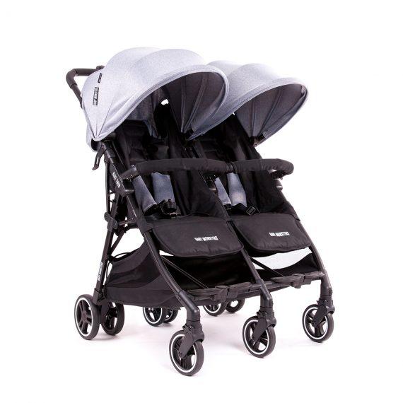 Baby Monsters Kuki Twin BMKT10001 BMKT 011 Heather grey 3