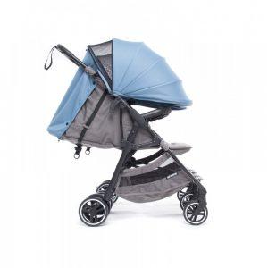 Baby Monsters Kuki Twin Stroller – Atlantic s mrežicom