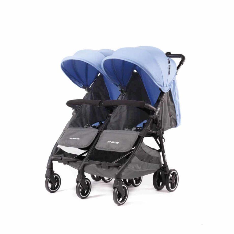 Baby Monsters Kuki Twin Stroller -Mediterrean
