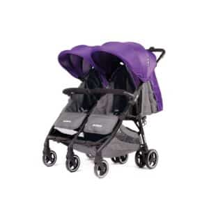 Baby Monsters Kuki Twin Stroller – Purple