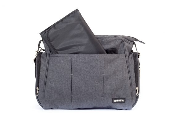 Baby Mosters universal bag GREY BM70005 2