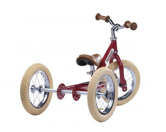 Trybike steel bike, vintage red TBS-2-RED-VIN 8719189161670 TBS-100-TKV 8719189161687 (2)