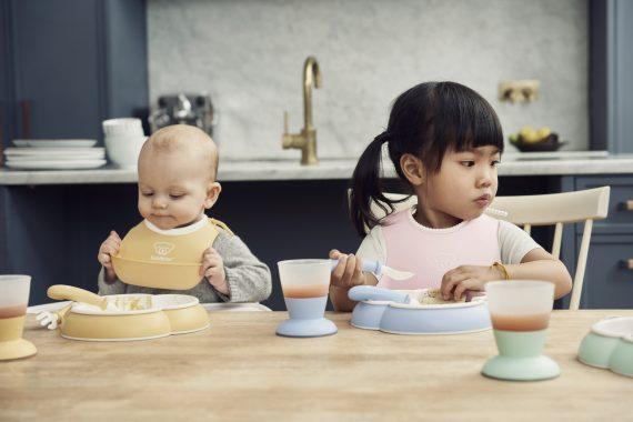 Baby Bib – Powder Pink