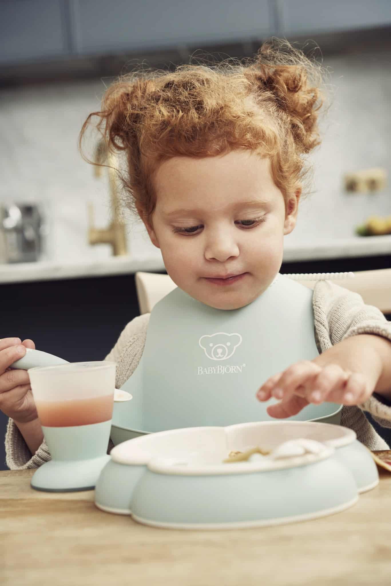 Baby Dinner Set – Powder Green (2)