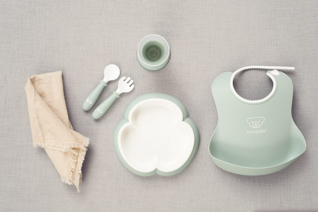 Baby Dinner Set – Powder Green (5)