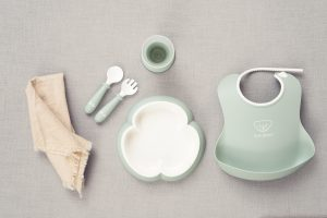 Baby Dinner Set – Powder Green (5)
