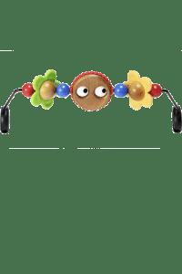 Drvena igračka s Google oči