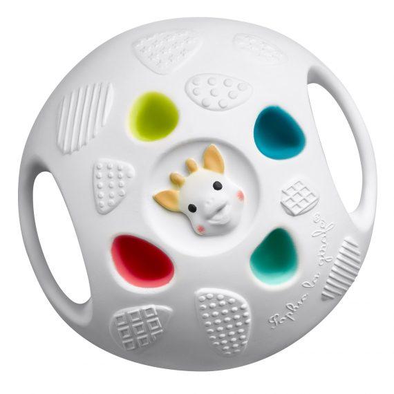 Sophie-zirafa-senzorička-lopta-igračka-bebe