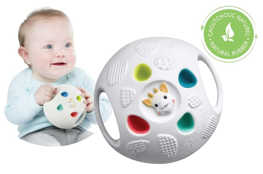 Sophie-zirafa-senzorička-lopta-igračke-bebe