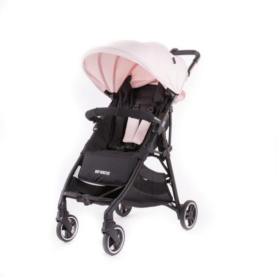 Dječja kolica za bebe BM Kuki Svijetlo roz