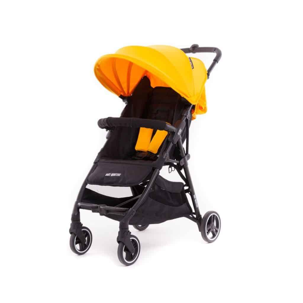 Dječja kolica za bebe BM Kuki Žuta