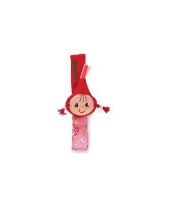 Crvenkapica - zvečka i narukvica za bebe
