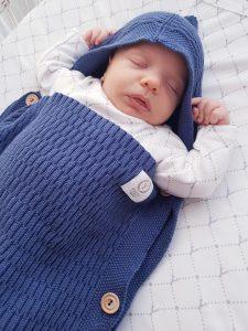 Vreća za spavanje bebe – plava 1