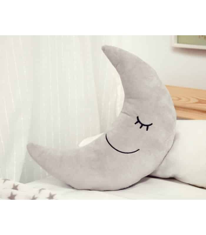 Ukrasni jastuk sivi mjesec 2