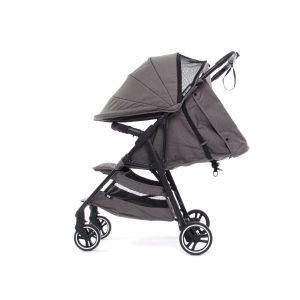 Dječja kolica za bebe Baby Monsters Novi Kuki – Heather Grey 2