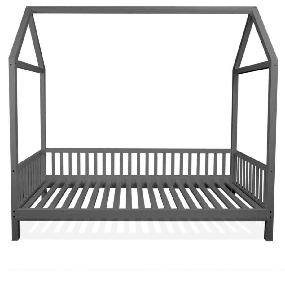 krevet bez ogradice – sivi