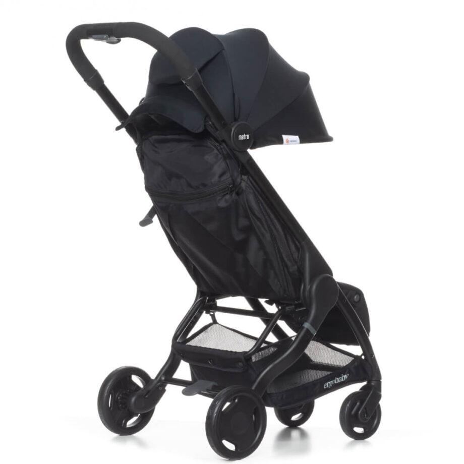 Dječja kolica za bebe Metro-Crni
