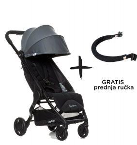 Dječja kolica za bebe Metro-Sivi-gratis-prednja-ručka-e1590157129667