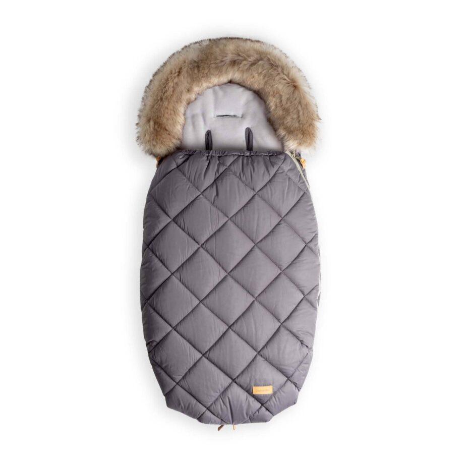 Zimska vreća za dječja kolica za bebe - Crna 1