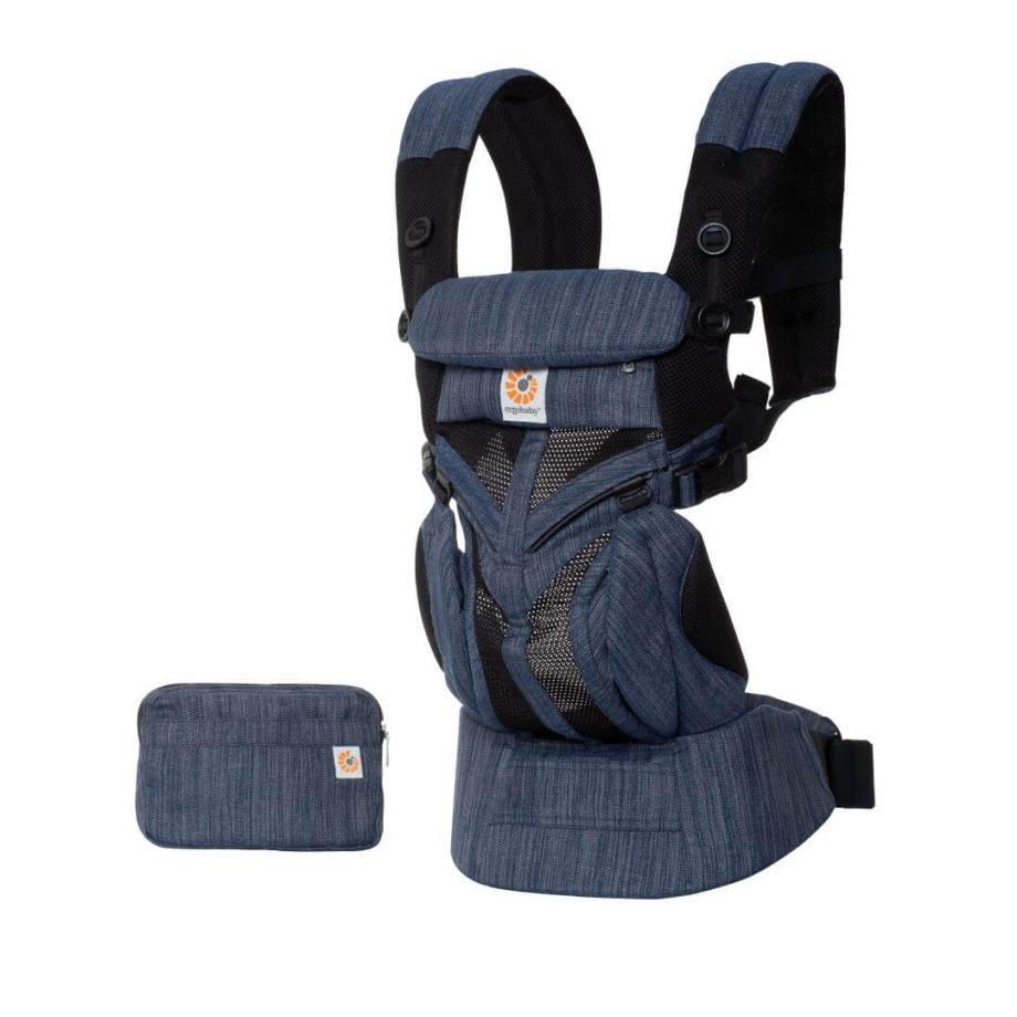 Nosiljka za Bebe - Ergobaby Omni-360-Cool-Air-Indigo Weave