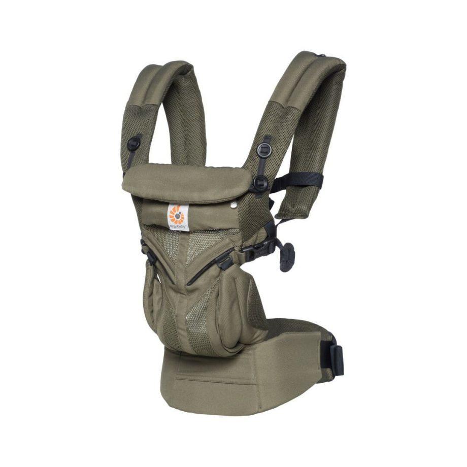 Nosiljka za Bebe - Ergobaby Omni-360-Cool-Air-Maslinasto zelena