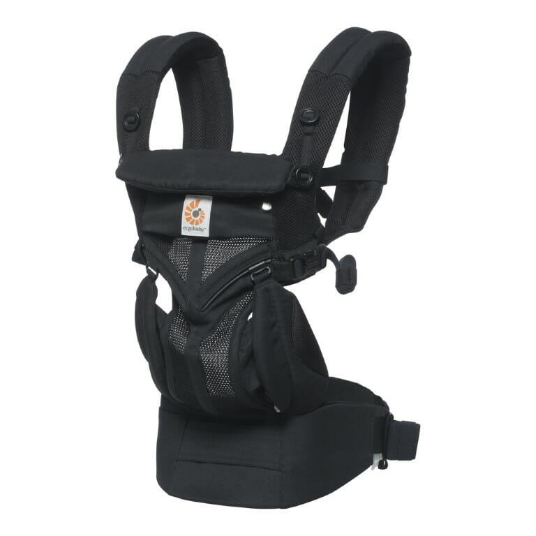 Nosiljka za Bebe - Ergobaby Omni-360-Cool-Air-crna